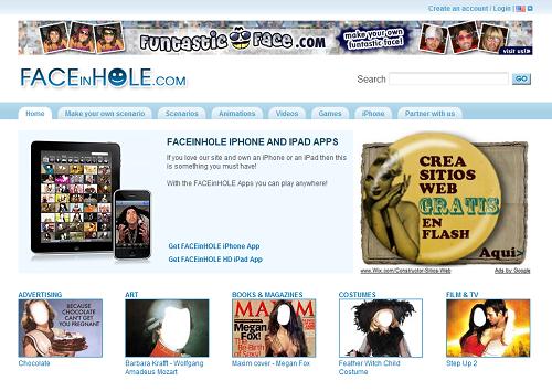 www.Faceinhole.com