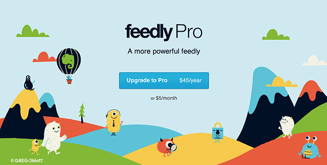 Feedly Pro ya esta disponible