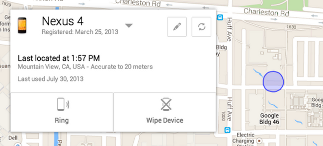 Localiza tu Android con Android Device Manager