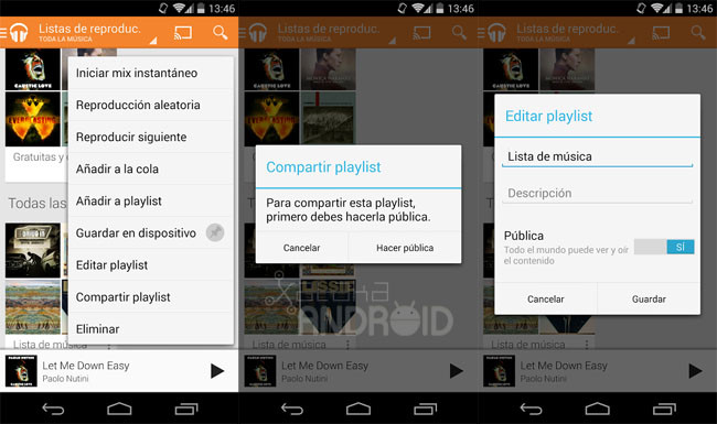 Google Play Music 5.5