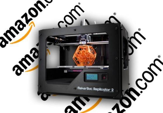 Impresiones en 3D de Amazon