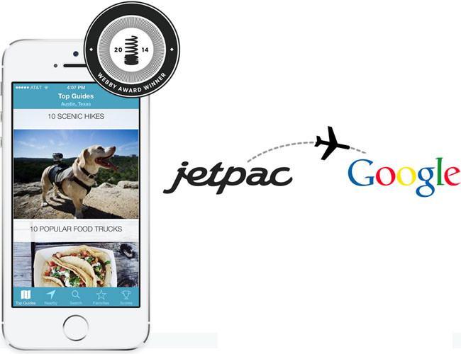 Jetpac, con reconocimiento de imágenes