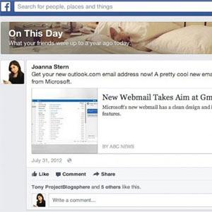 Efemérides en Facebook