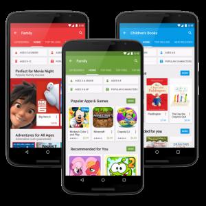 Android tienen un nuevo proyecto llamado Designed for Families
