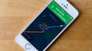 modo nocturno en Google Maps para iOS