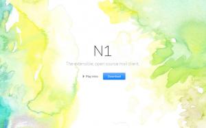 N1 una multiplataforma de escritorio de correo electrónico