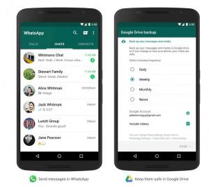 como hacer copia de seguridad de Whatsapp