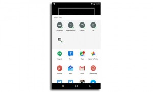 capturas de pantalla con Google Now on Tap
