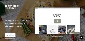 web para compartir recetas
