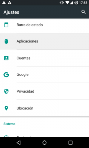 desactivar notificaciones de Whatsapp en Android 6.0