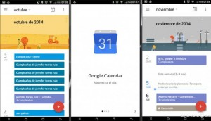 sincronizar calendario de Google en iOS