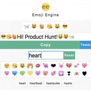 web para buscar emojis