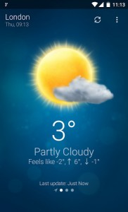 Today Weather para Android