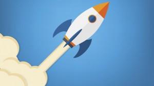 cohete que aparece en Facebook